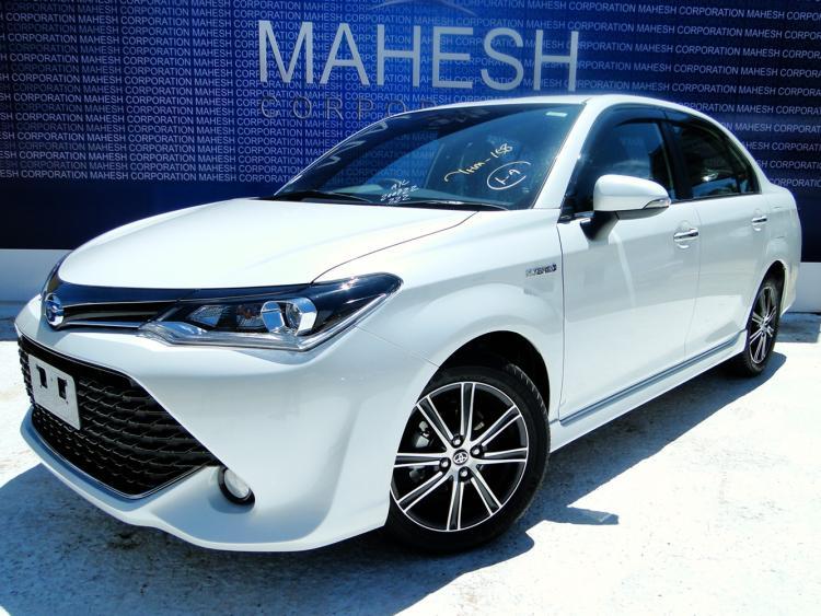 Toyota Axio Wxb Grade 2017 Mahesh Corporation