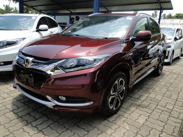 honda vezel  grade  mahesh corporation